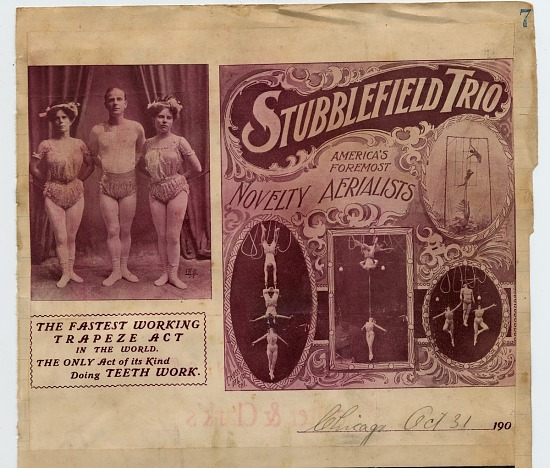 image for Stubblefield Trio: advertising flier