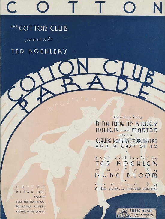 image for Cotton Club Parade sheet music