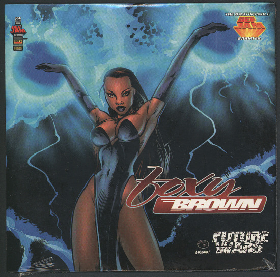 image for sound recording: Foxy Brown Sampler CD