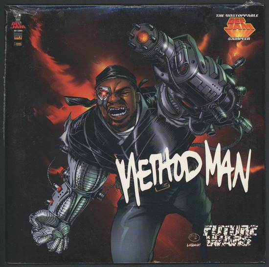 image for sound recording: Method Man Sampler CD