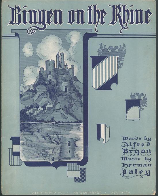 """image for """"Bingen on the Rhine"""" Sheet Music"""
