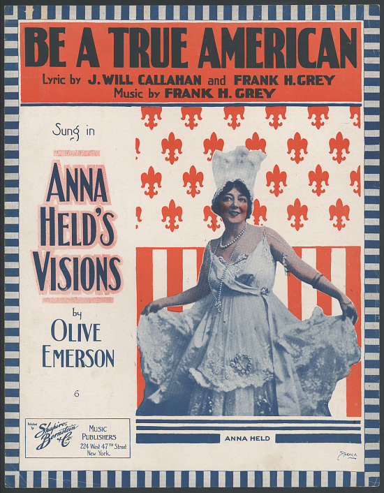 """image for """"Be a True American"""" Sheet Music"""