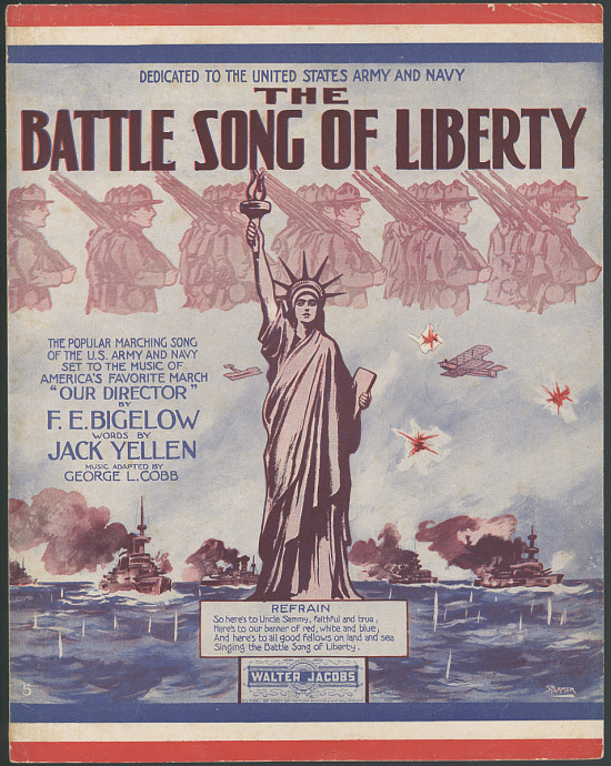 "image for ""The Battle Song of Liberty"" Sheet Music"