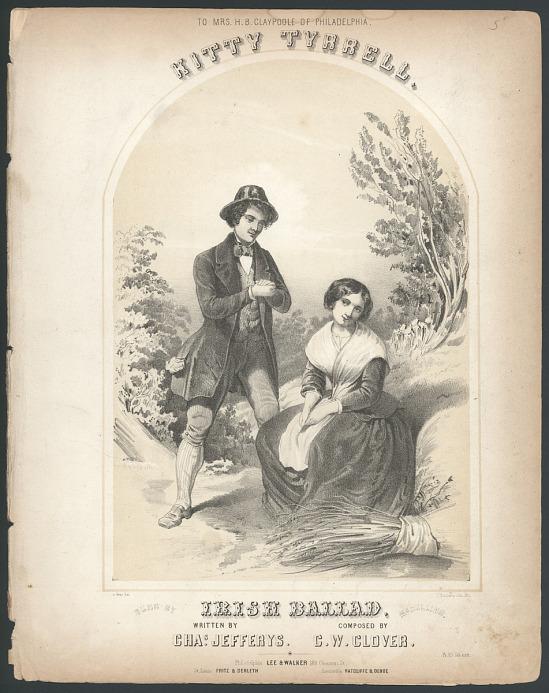 "image for ""Kitty Tyrrell, Irish Ballad"" Sheet Music"