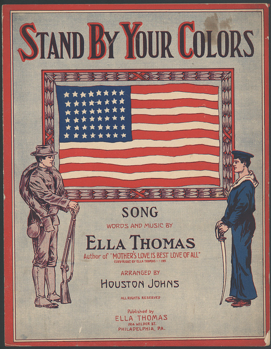 "image for ""Stand By Your Colors"" Sheet Music"