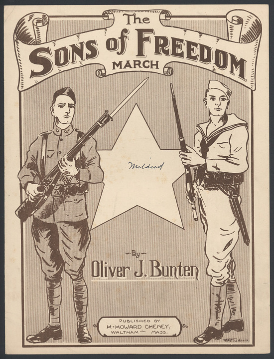 """image for """"The Sons of Freedom March"""" Sheet Music"""