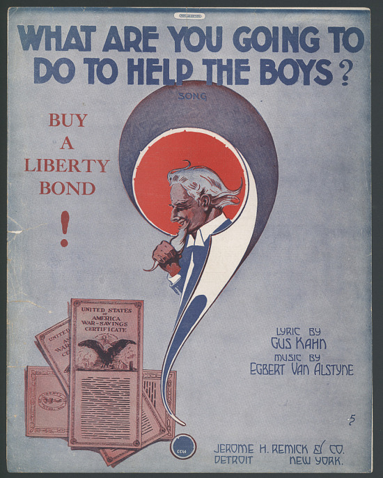 "image for ""What Are You Going to Do to Help the Boys"" Sheet Music"