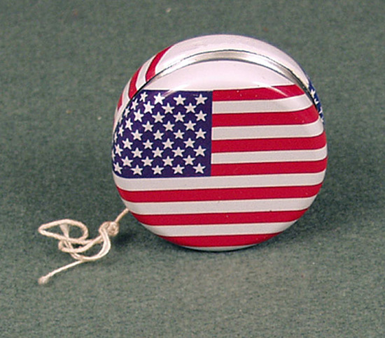 image for Oriental Trading Company American Flag Yo-Yo