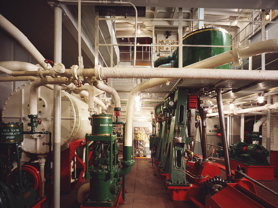 image for Engine Room From Coast Guard Buoy Tender Oak