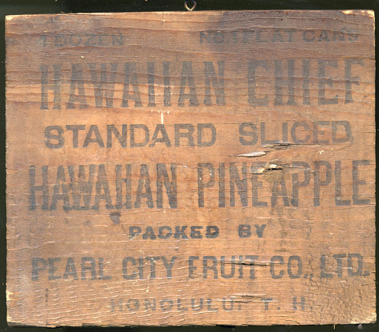 image for Pineapple Shipping Crate