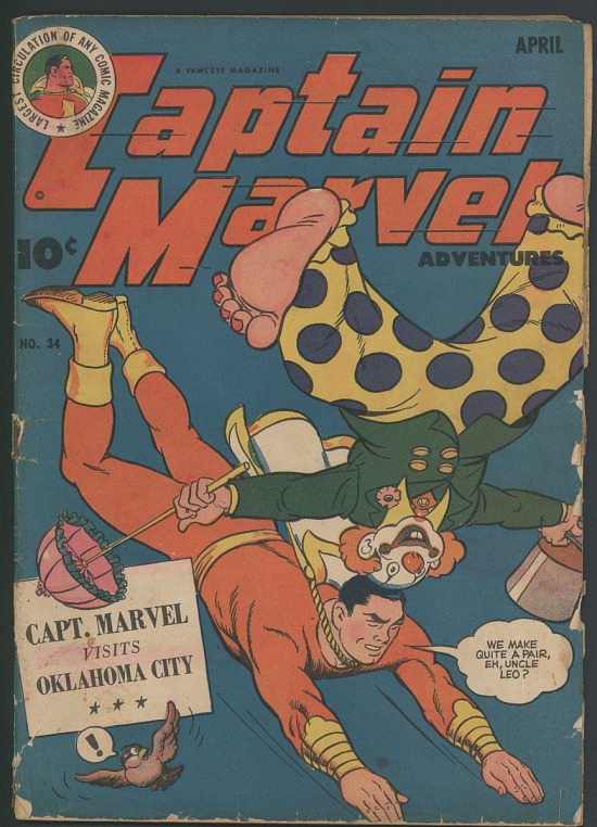 image for Captain Marvel Adventures, No. 34