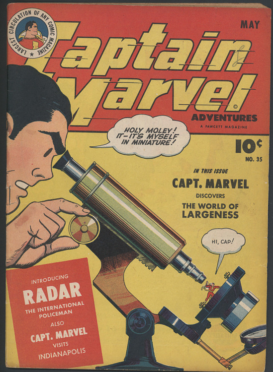 image for Captain Marvel Adventures, No. 35