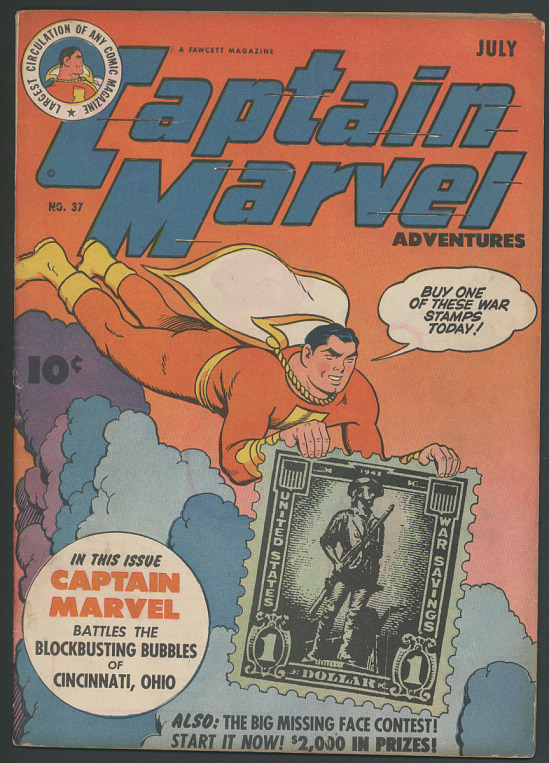 image for Captain Marvel Adventures, No. 37