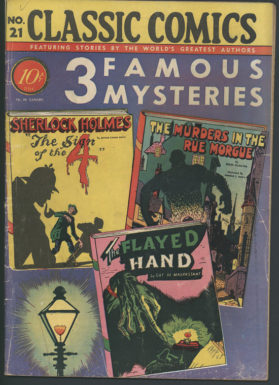 Classic Comics No  21: 3 Famous Mysteries | Smithsonian