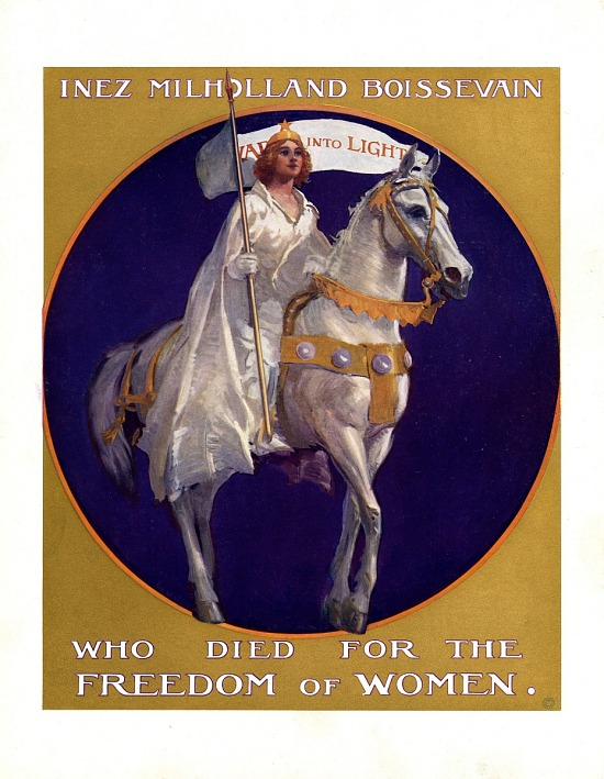 image for Inez Milholland Pageant Poster, 1924