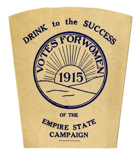 image for Woman Suffrage Paper Cup, 1915