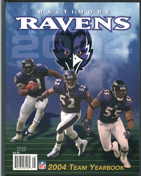 image for 2004 Baltimore Ravens Team yearbook