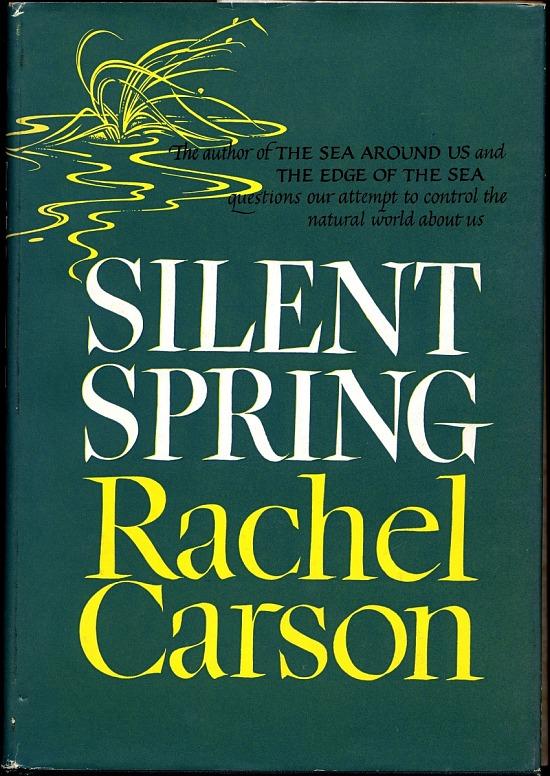 image for Silent Spring, Rachel Carson, 1962