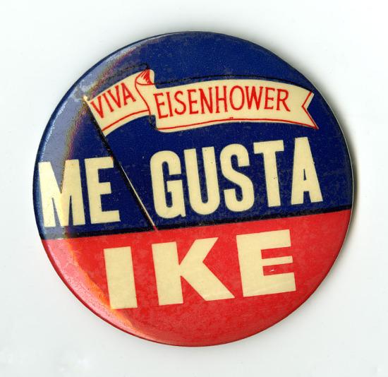 image for Button, Viva Eisenhower Me Gusta Ike