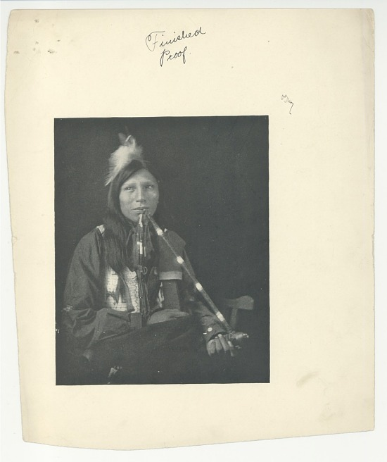 image for Native American man with pipe