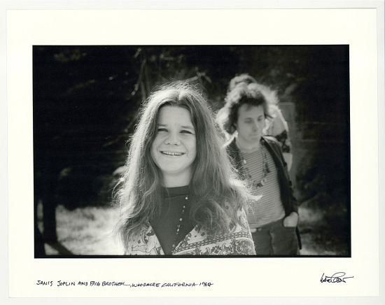 image for Janis Joplin and Big Brother, Woodacre, CA, 1967.