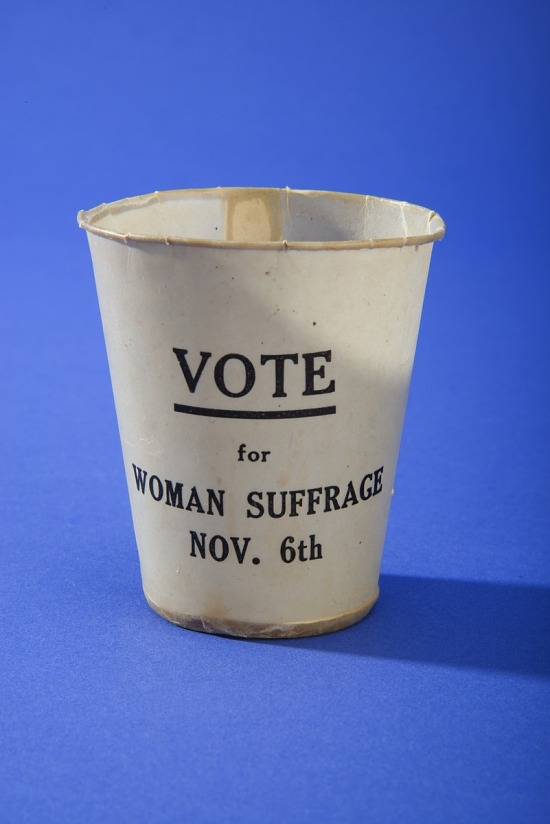 image for Woman Suffrage Paper Cup