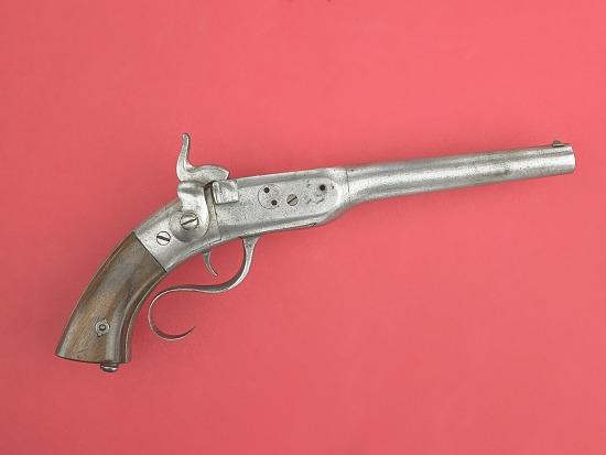 Perry Breechloading Single Shot Pistol | Smithsonian Institution