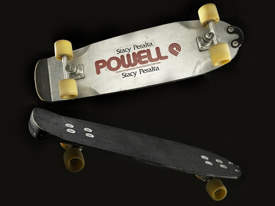 image for Honeycomb pool skateboard designed by George Powell and used by Stacy Peralta