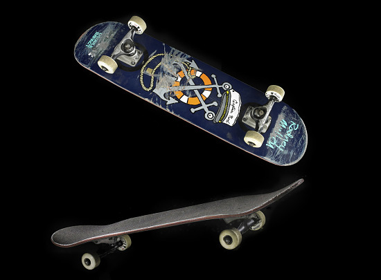 image for Double Impact skateboard used by Rodney Mullen