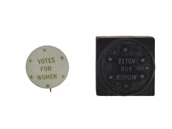 image for Woman Suffrage Button, 1911