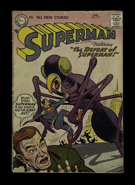 "image for Superman #110, ""The Defeat of Superman"""