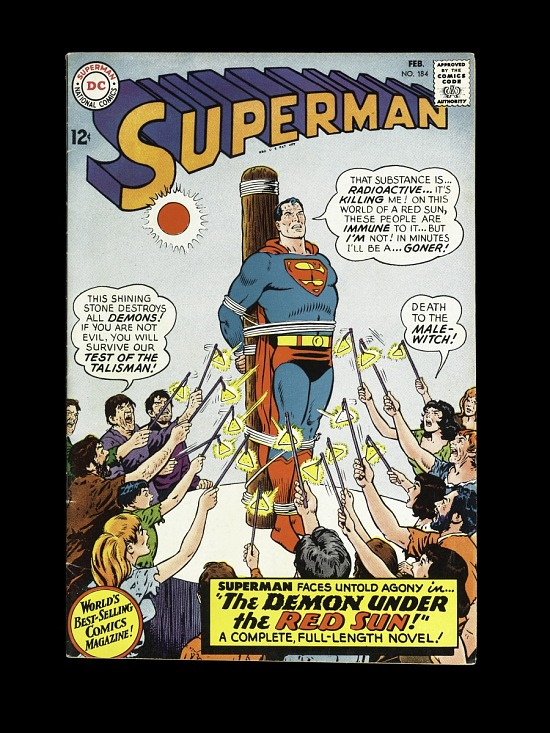"""image for Superman #184 """"Demon Under the Red Sun"""""""