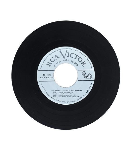 image for TV Guide Presents: Elvis Presley Vinyl Recording