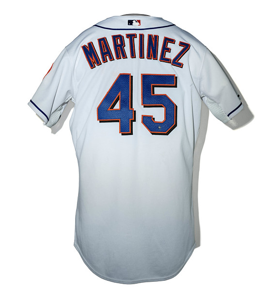 best service d64bf db1cb New York Mets jersey worn by Pedro Martinez | Smithsonian ...
