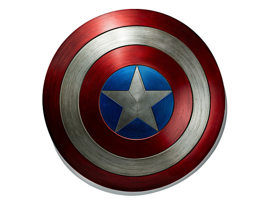 image for Shield used by Chris Evans as Captain America in Captain America:The Winter Soldier