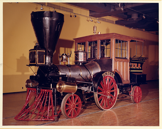 image for Cumberland Valley Railroad Steam Locomotive, Pioneer