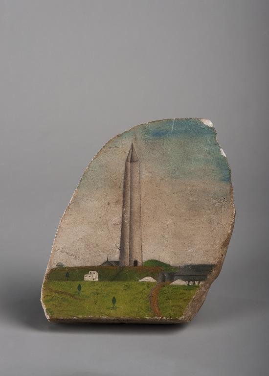image for Washington Monument cornerstone fragment, Washington, D.C., 1848