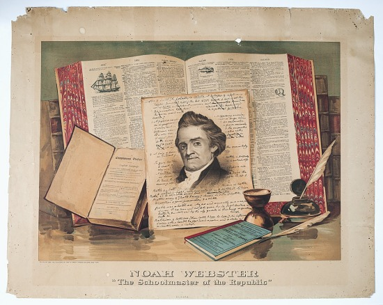 image for Noah Webster the Schoolmaster of the Republic