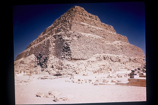 image for The Step Pyramid of Djoser, Ṣaqqārah, Egypt, slide