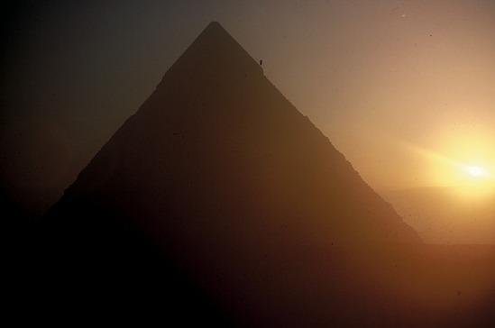 image for The pyramid of Khafre, Pyramids of Giza, Egypt, slide