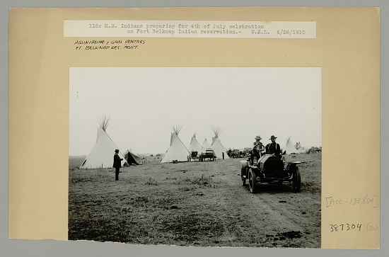 image for Group Preparing for 4th of July Celebration 28 JUN 1910