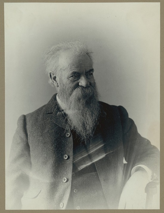 image for Portrait (Front) of John Wesley Powell, undated