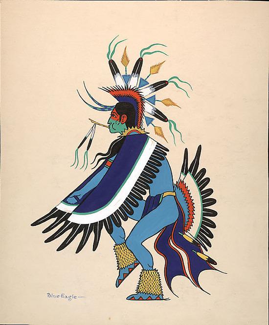 image for Eagle Dancer n.d. Painting