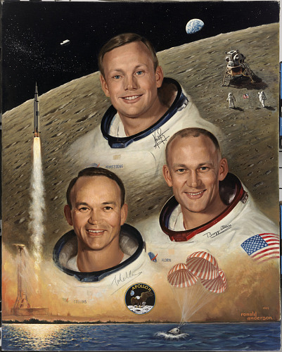image for Apollo 11 Crew
