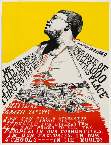 image for Fred Hampton, 1948-1969, When One of Us Falls, 1000 Will Take His Place