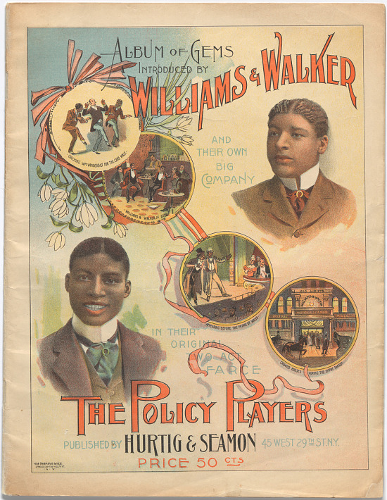 image for Album of Gems, Introduced by Williams and Walker and Their Own Big Company