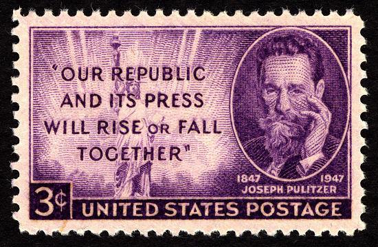 image for 3c Joseph Pulitzer single