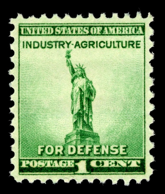 image for 1c Statue of Liberty single