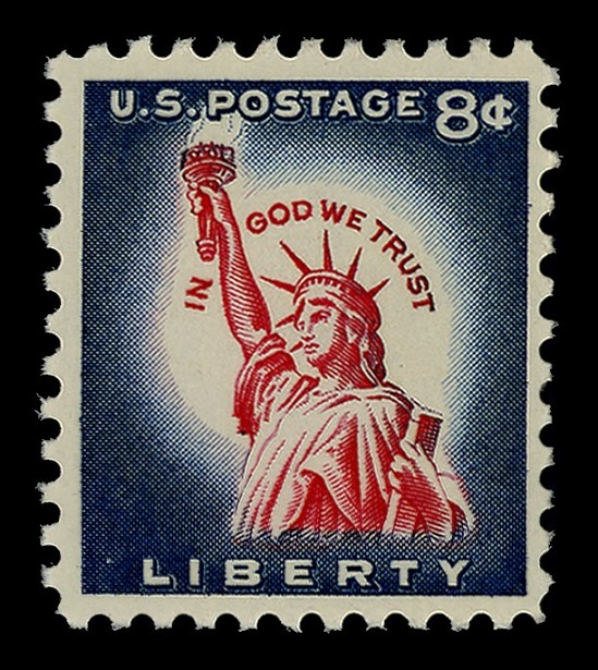 image for 8c Statue of Liberty single