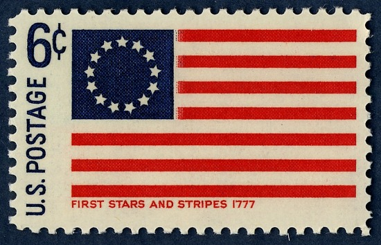 image for 6c First Stars and Stripes Flag single